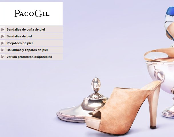 outlet Paco Gil