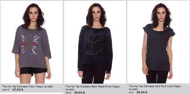 camisetas the hip tee