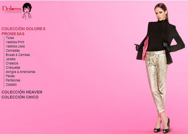 dolores promesas heaven outlet