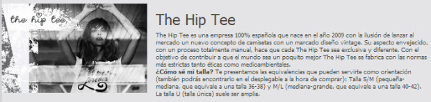 outlet the hip tee