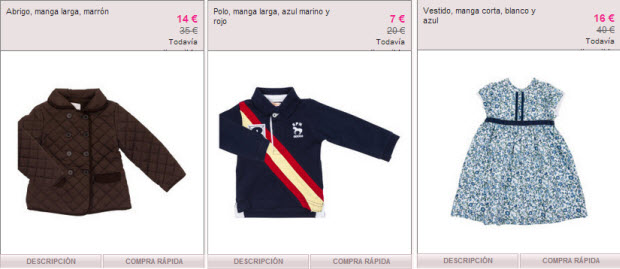 ropa outlet gocco