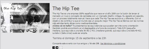 the hip tee online