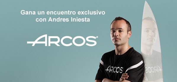 ¿Te gustaría conocer en persona a Andrés Iniesta?