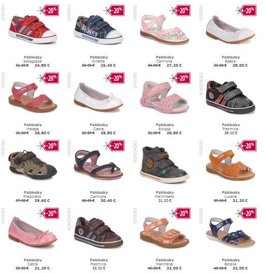 bastante baratas liberar información sobre disfruta el precio más bajo Pablosky Outlet: zapatos infantiles de calidad en Spartoo