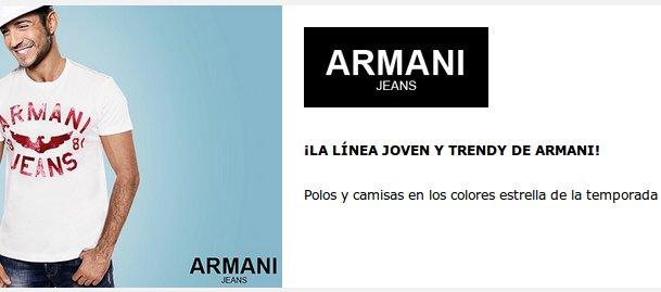 Armani Jeans outlet: precios únicos en la moda más urbana y casual