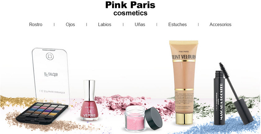 pink paris cosmetics