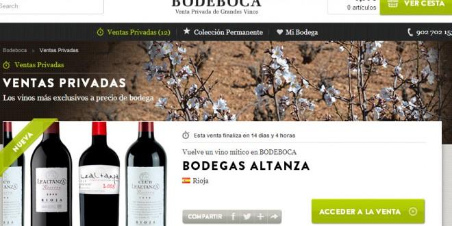 Bodeboca: opiniones del portal de ventas privadas de vino