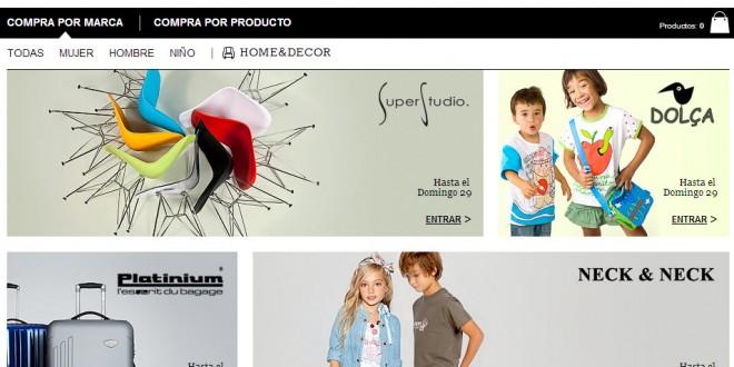 Privalia: ropa y zapatos con descuento para socios premium