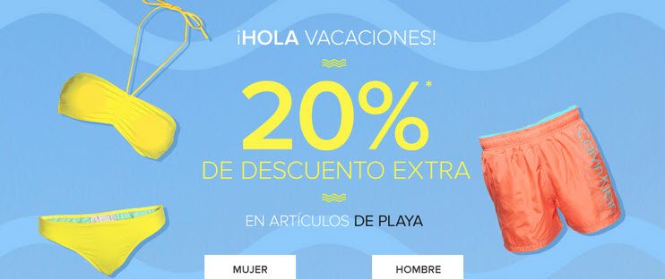 ropa de playa outlet