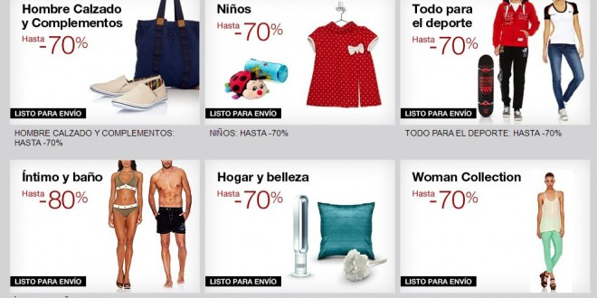 Amazon Buyvip Outlet: liquidaciones de ventas privadas