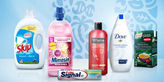 Unilever outlet: productos del hogar al 50%