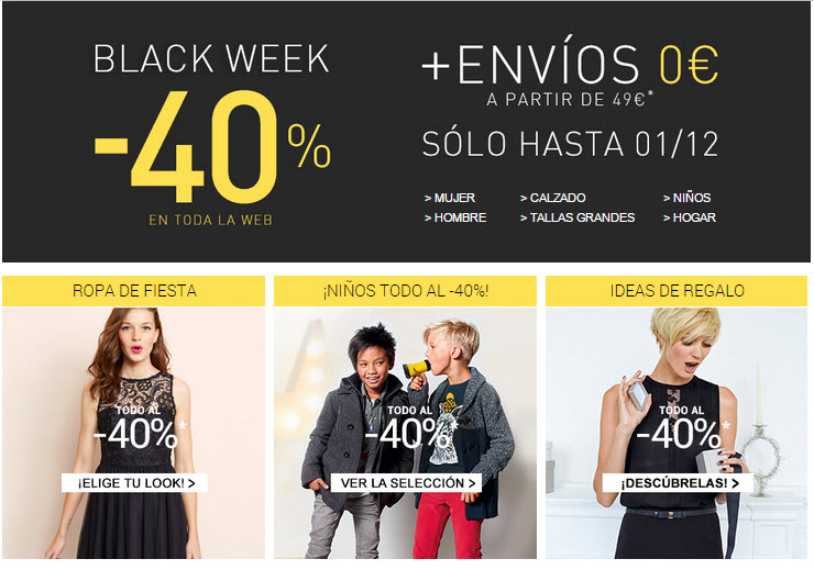 black friday 2014 ropa