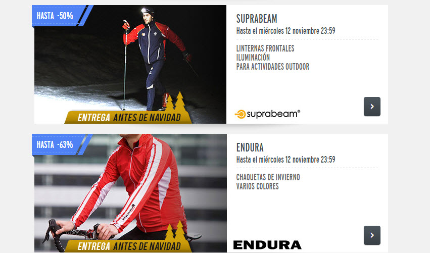 private sport shop ventas privadas