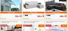 Venta Unica: opiniones de ventas flash de sofas y sillas online