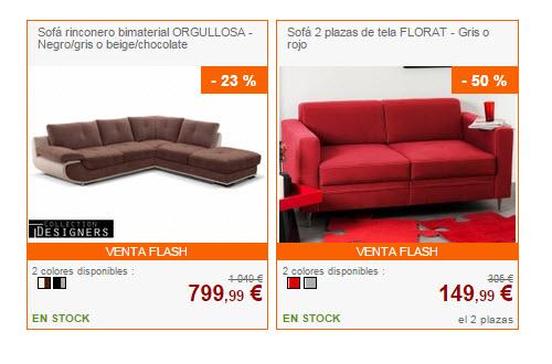 venta unica sofas