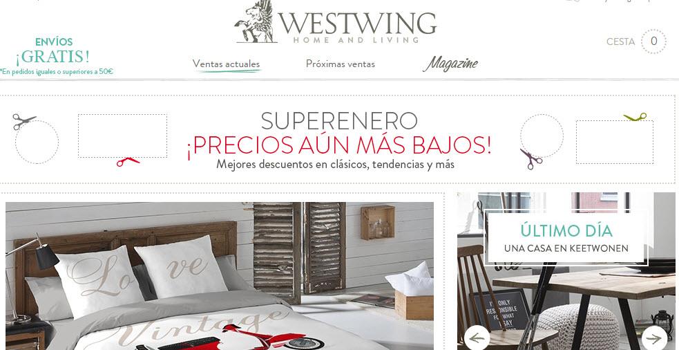 Westwing opiniones del portal de ventas privadas de muebles - Westwing opiniones ...