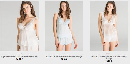 Women Secret pijamas 2015