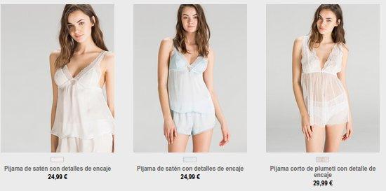 Women Secret pijamas 2015