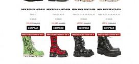New Rock España: opiniones sobre botas y zapatos outlet