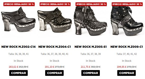 New  Rock outlet