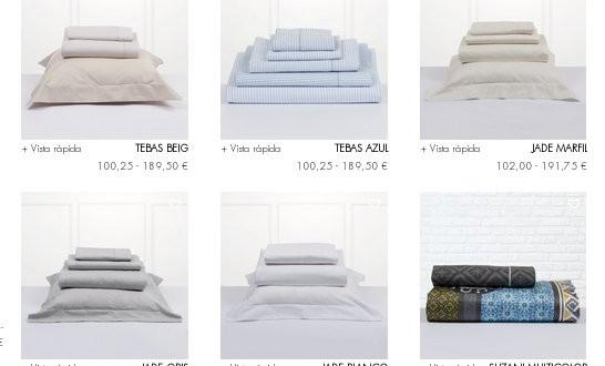 Bassols sábanas: precios outlet para ropa de cama