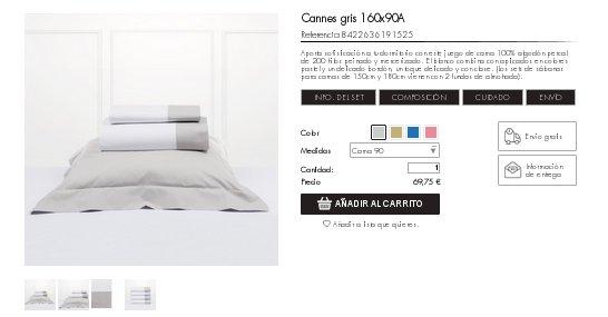 Bassols sábanas ropa de cama