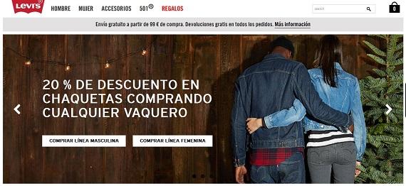Levis online España: opiniones de accesorios, 501 y outlet