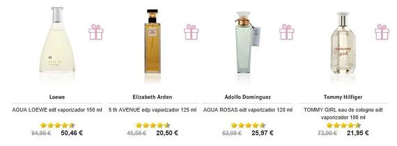 Perfumes devoluciones