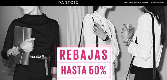 Rebajas Parfois 2016 online: bolsos, relojes y collares