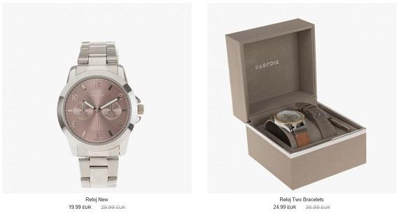 Rebajas Parfois 20169 relojes