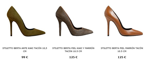 stilettos zapatos