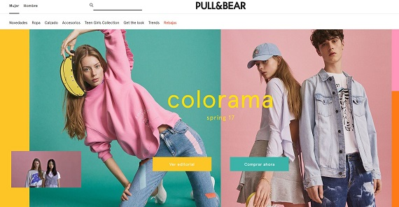 how to return pull and bear online