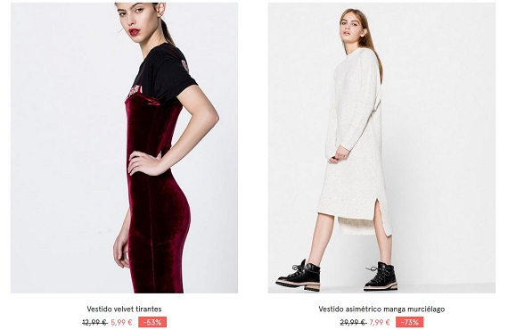 pull and bear vestidos