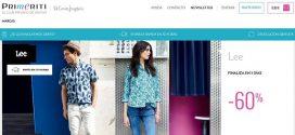 Primeriti: opiniones y comentarios de las ventas privadas de ropa