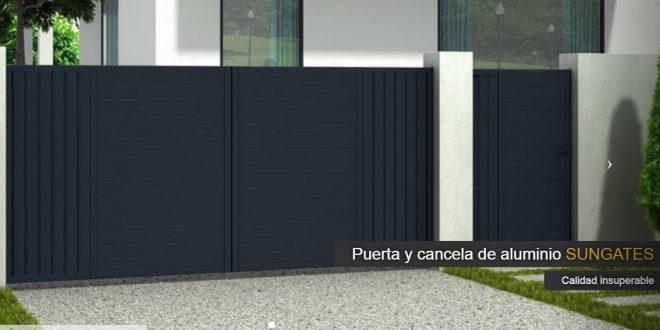 Sungates opiniones de sus puertas de aluminio y vallas de - Puertas para vallas ...