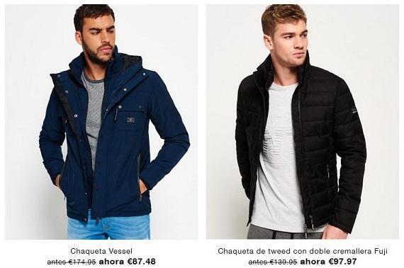 superdry chaquetas