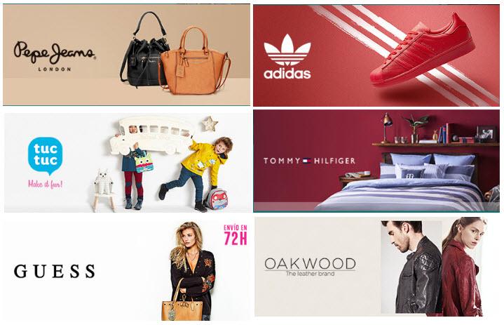 ventas privadas de ropa
